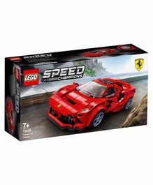 Lego Speed Champions Ferrari F8 Tributo Car Building Set Red - 275 Pieces