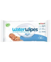 WaterWipes Baby Wipes - 60 Pieces