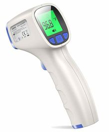 Jumper Non Touch 3-in-1 Digital Infrared Forehead Thermometer - White