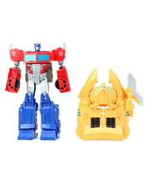 Transformers Cyberverse Spark Armor Ark Power Optimus Prime Action Figure - 30 cm