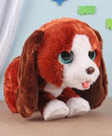 Furreal Friends Interactive Howlin' howie Plush Puppy Toy - Height 22.5 cm