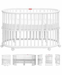 Fisher Price Florence Multifunction Baby Crib and Bed - White