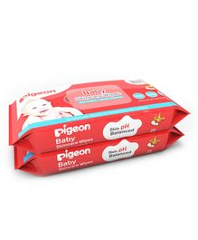 Pigeon Baby Skincare Wipes pack of 2 - 72 Pieces Each