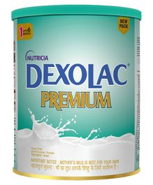 Dexolac Premium Stage 1 Tin - 400 gm