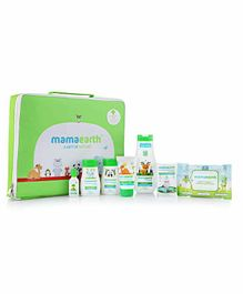 MamaEarth Nature Combo Gift Kit Pack of 7 - Green White