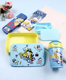 Disney Donald Duck School Kit Blue Pack of 4 - Yellow Blue