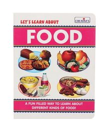 Creative Let's Learn About Food - Multicolour