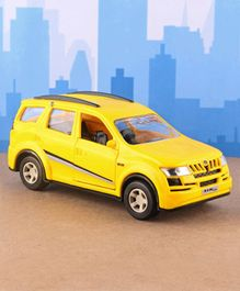 Shinsei Pull Back XUV 500 Toy Car - Yellow
