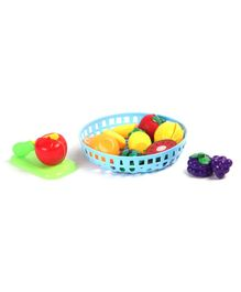 Pretend Play Fruit Cutting Set Multicolour - 10 Pieces