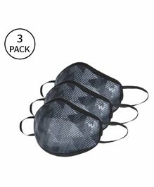 Wildcraft Small Reusable Outdoor W95+ Supermasks Black - Pack of 3