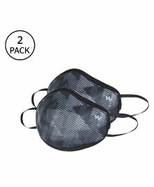 Wildcraft W95+ Reusable Small Size Supermask Black - Pack of 2