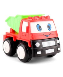 House of kids Mini Friction Dumper Truck Toy - Red Green