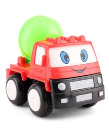 House of kids Mini Friction Mixer Truck Toy - Red Green