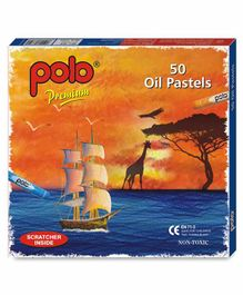 Polo Oil Pastels - Pack of 50