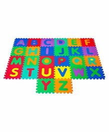 Muren Interlocking Play Mat Alphabets Print - Multicolor