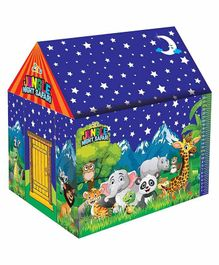 Muren Night Safari Tent House with LED Lights - Blue Green