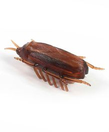 Muren Electronic Cockroach Vibrating Prank Toy - Brown