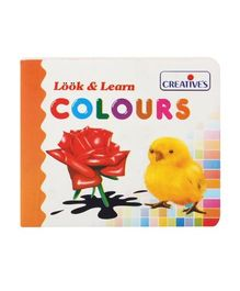Creative's Look & Learn Colour Book - English