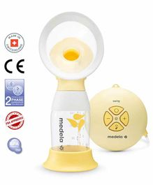 Medela Swing Flex Single Electric 2-Phase Breast Pump - Yellow White