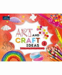 Book Ford Publication Art & Craft Ideas Book 1 with Material - English
