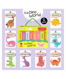 Laxmi Prakashan The Dino World Board Books Pack of 8 - English