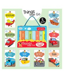Laxmi Prakashan Things That Go Board Books Pack of 8 - English