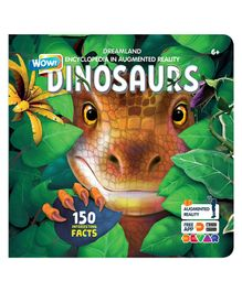 Dreamland Publications Dinosaurs Wow Encyclopedia in Augmented Reality - English