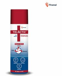 Tri-Activ Disinfectant Spray for Multi-Surfaces 70% Alcohol Based - 230 ml