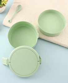 Lunch Box With Spoon 1400 ml - Green