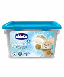 Chicco Laundry Detergent Gel Caps Pack of 16 - Blue