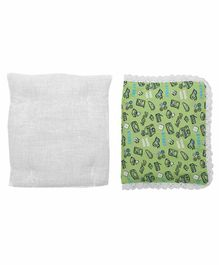 Grandma's Premium Finger Millet Pillow with 2 Pillow Covers Video Game Print - Green