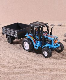 Shinsei Tractor with Trolley - Blue