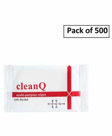 Clean Q Sanitizer Wipes - Pack of 500