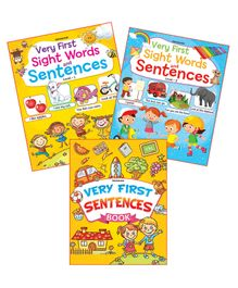 Dreamland Publications Very First Sentence Books Set of 3 - English
