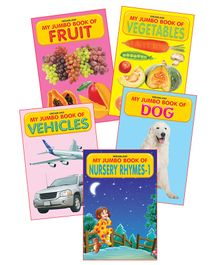 Dreamland Publications My Jumbo Book Series Pack Two 5 Books - English