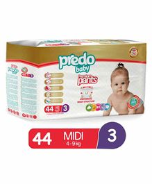 Predo Baby Diapers Style Pants Midi Size 3 - 44 Pieces