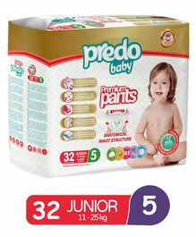 Predo Baby Diapers Style Pants Size 5 - 32 Pieces