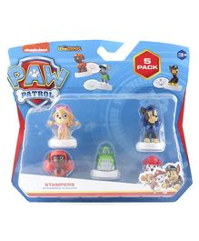 Paw Patrol Stampers Set of 5 - Multicolour