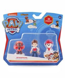 Paw Patrol Stampers Set of 3 - Multicolour
