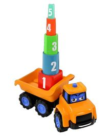 JCB Free Wheel Stacking Stanley Mega Truck - Multicolor