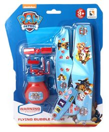Paw Patrol Bubble Blowing Plane - Blue