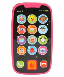 Planet of Toys Interactive Phone Toy with Light and Sound - Multicolor