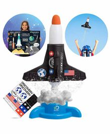 Discovery Rocket Launcher Science Experiment Kit