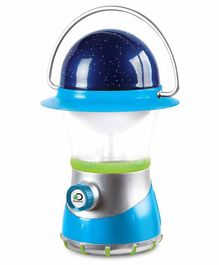 Discovery 2-in-1 4X led Starlight Lantern And Star Projector - Blue Green