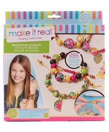 Make It Real Bracelet Making Kit - Multicolor