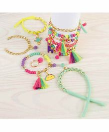 Make it Real Neo-Brite Chains & Charms 10 Bracelets - 180 Pieces