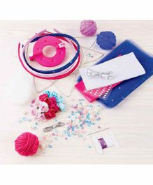 Make it Real Sweet N' Chic Headbands Kit Multicolor - 140 Pieces