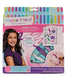 Make it Real Shimmer Tattoos Kit - Multicolor