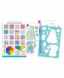 Make it Real Fashion Design Sketchbook Blooming Creativity - Multicolor