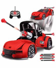 Sharper Image Remote Control Car with Missiles - Red
